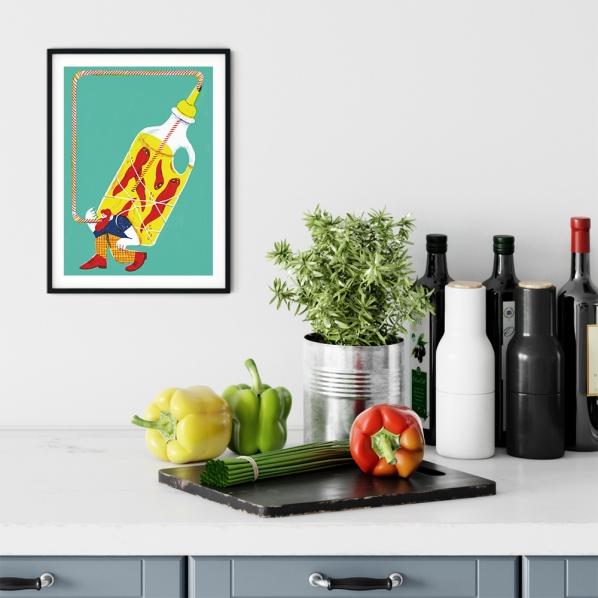 alice-piaggio-card-fine-art-print-stampa-home-illustrazione-illustration-gift-casa-regalo-food-spice-chili